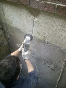 basement wall crack repair toronto